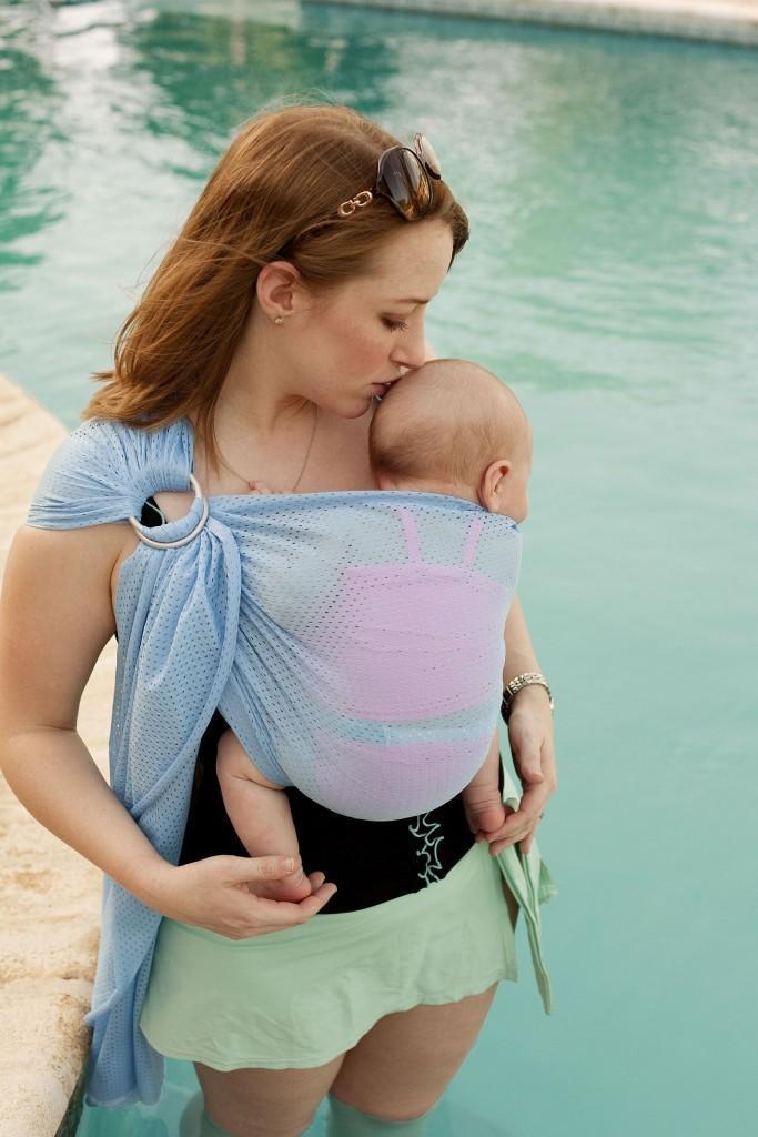 Май-слинг для новорожденных: как пользоваться (завязать и надеть)