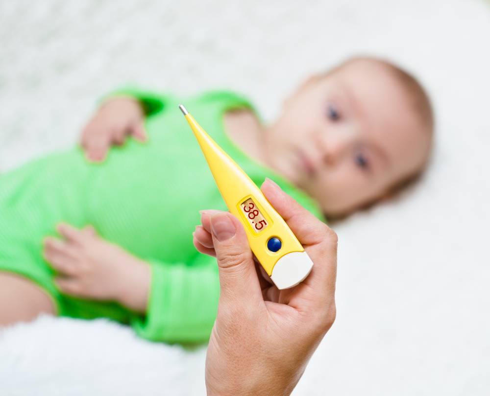 Каким способом сбить температуру у малыша 6 месяцев