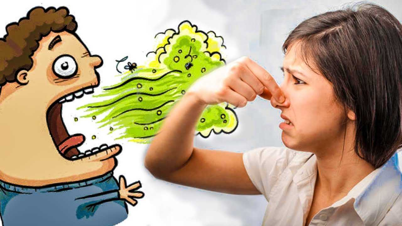 Причины появления неприятного запаха изо рта ребенка