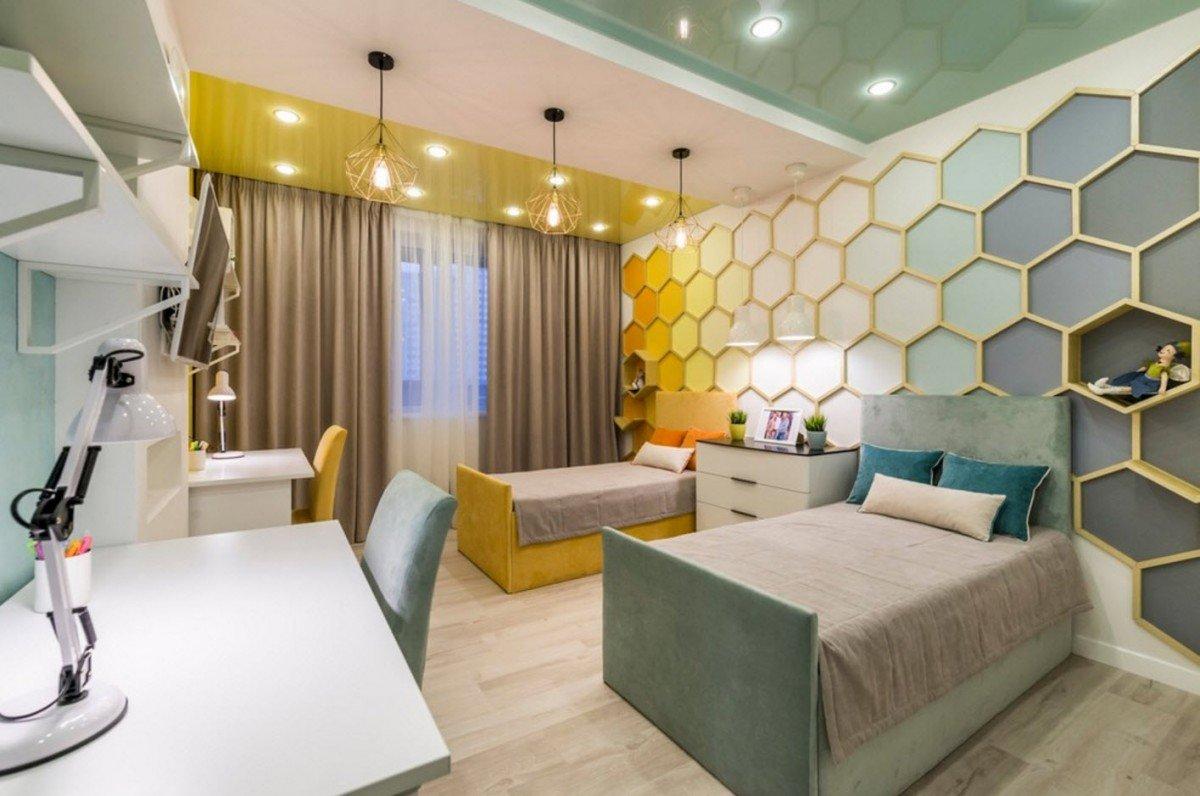 Особенности планировки и дизайн детской комнаты
