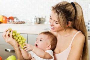 Можно ли виноград при грудном вскармливании - основные правила употребления
