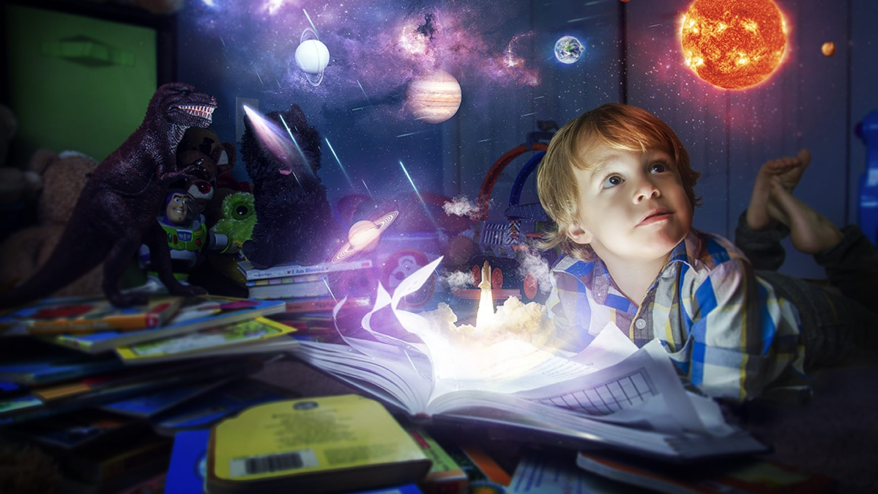Почему дети любят фантазировать: обзор темы и возможные проблемы - детская психология