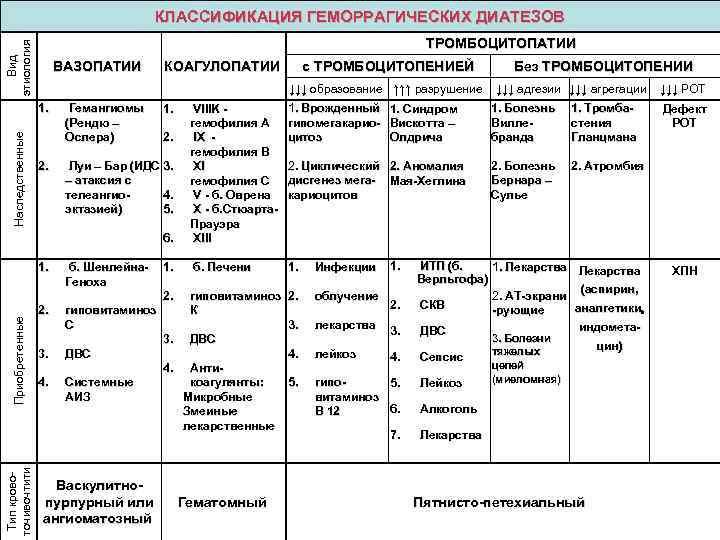 Геморрагический васкулит - лечение, диагностика, формы, симптомы
