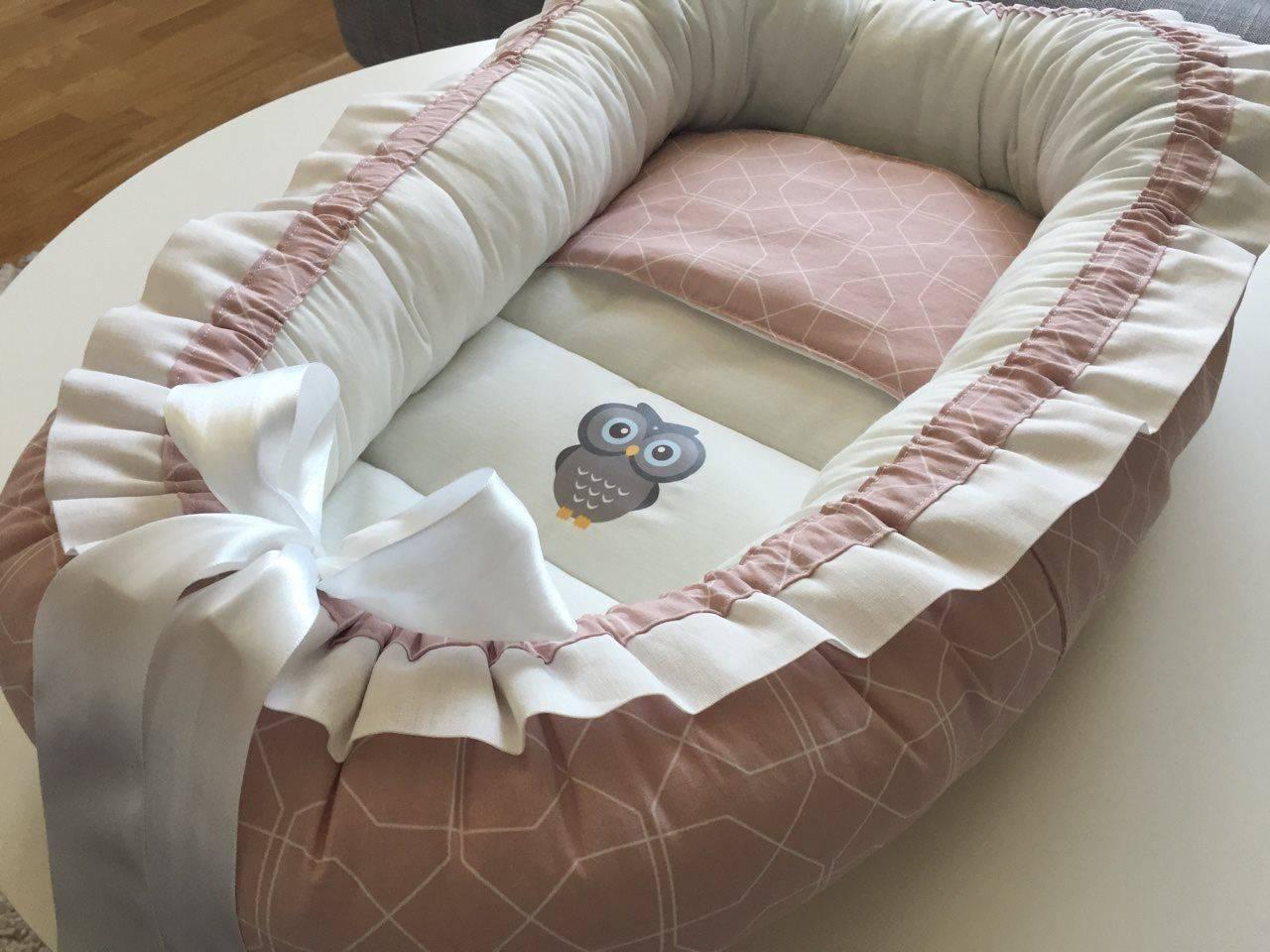Как сшить кокон для новорожденного своими руками - 105 фото пошива в домашних условиях