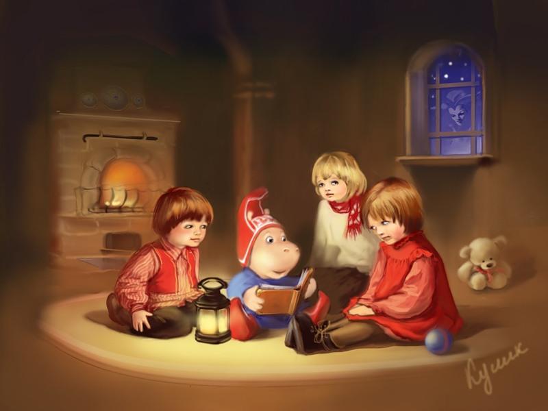 Влияние сказки на развитие и формирование характера ребенка