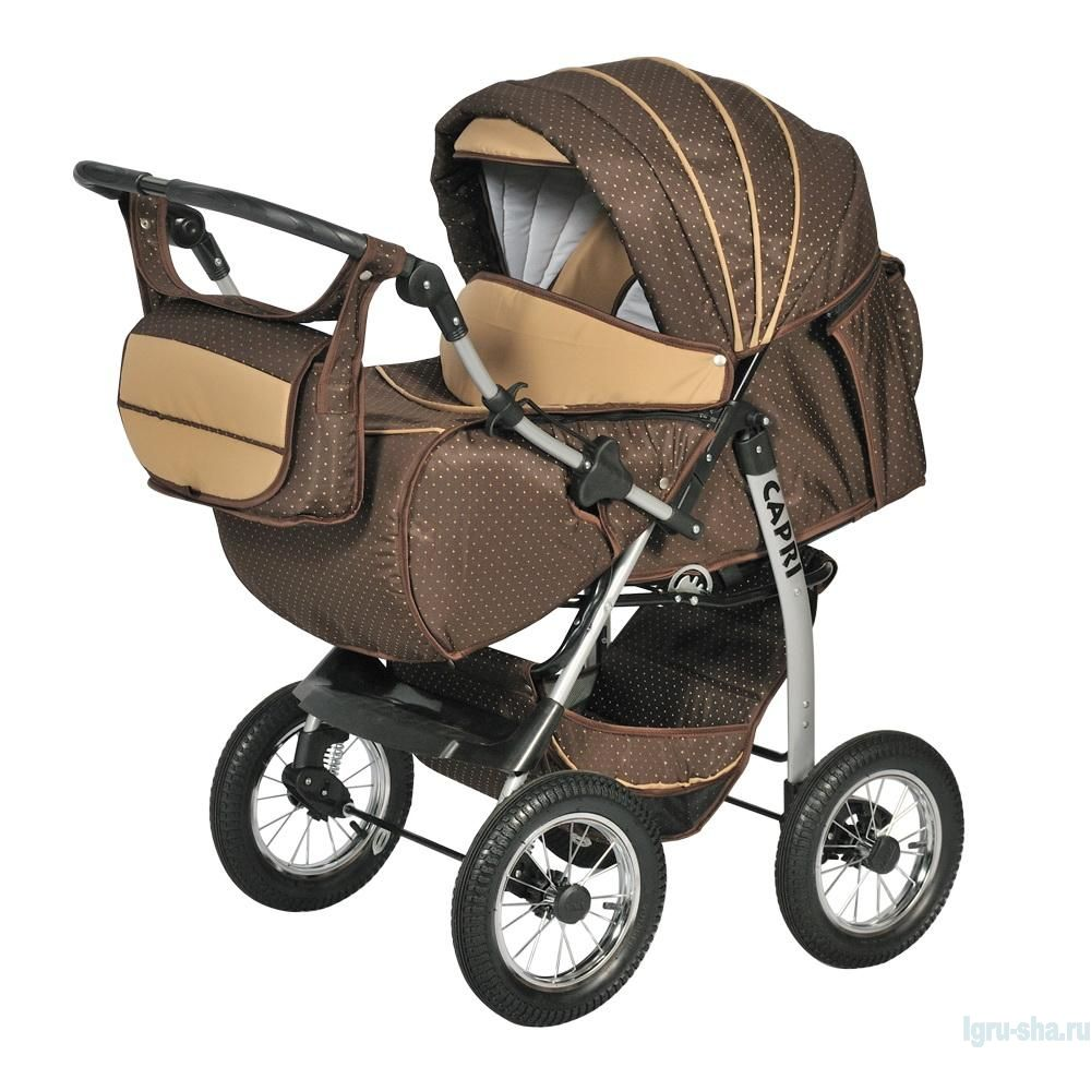 Современная детская коляска трансформер для новорождённых
