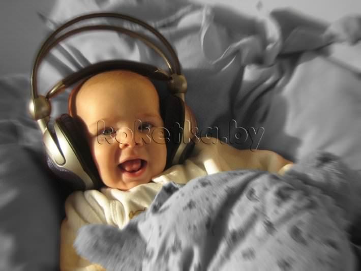 Какую музыку полезно слушать новорожденным