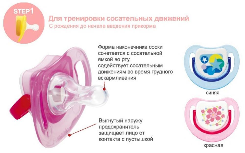 Как правильно выбрать соску-пустышку для малыша