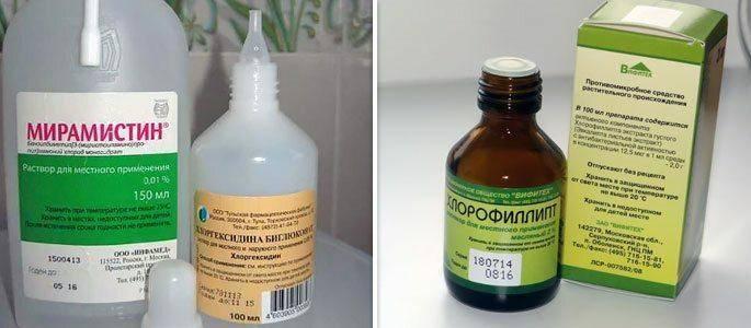 Как разводить хлоргексидин для полоскания горла