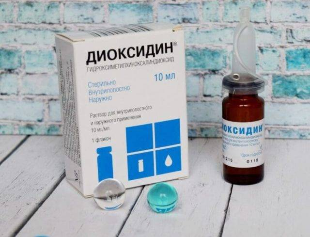 Ингаляции с диоксидином в небулайзере детям от кашля