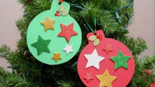 игрушки на елку своими руками ирз бумаги