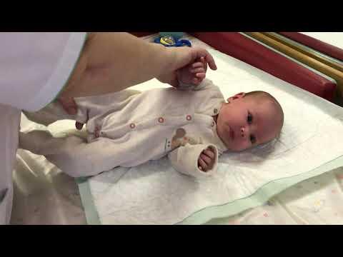 Массаж ребенку 4 месяца