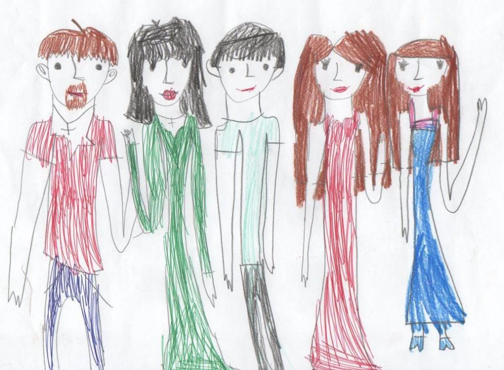 Детские рисунки как способ разговора со своим ребенком - воспитание и психология
