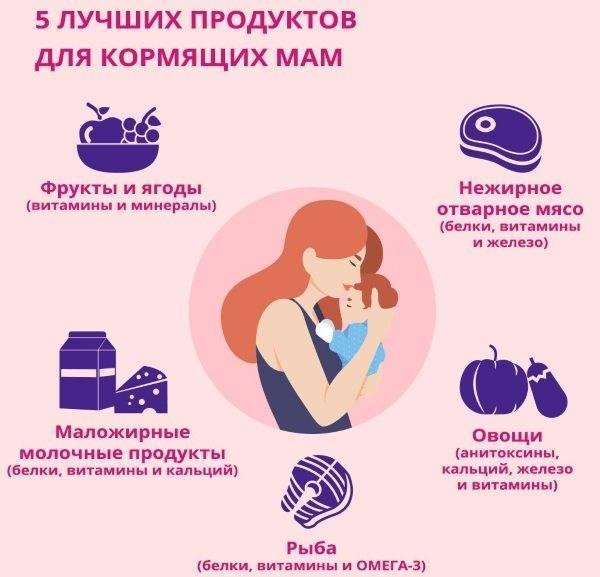Как улучшить качество грудного молока в период лактации: полезные продукты и общие рекомендации