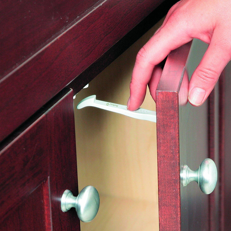 Защита от детей на ящики и шкафы. блокираторы и защитные замки делаем блокиратор своими руками от детей