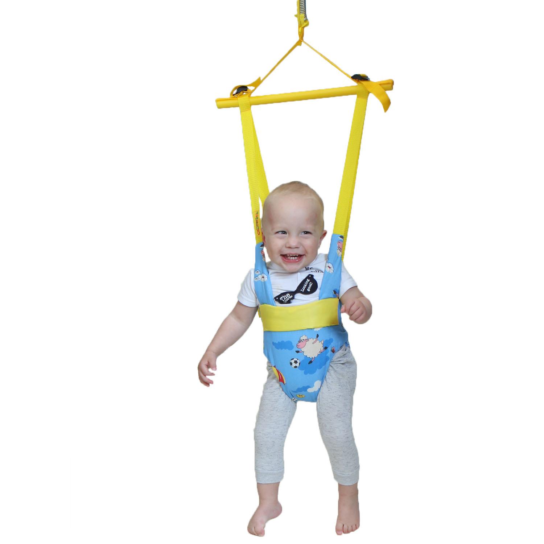 Когда следует купить прыгунки малышке — особенности девочек