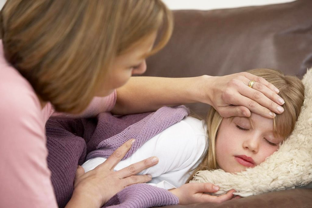 У ребенка температура 38.5 без симптомов