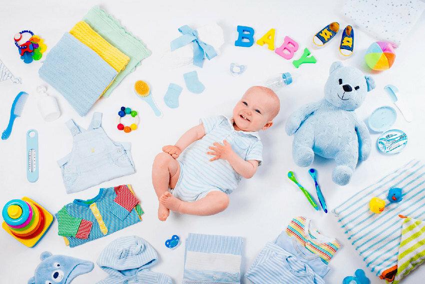 Список 10 обязательных вещей для новорожденного