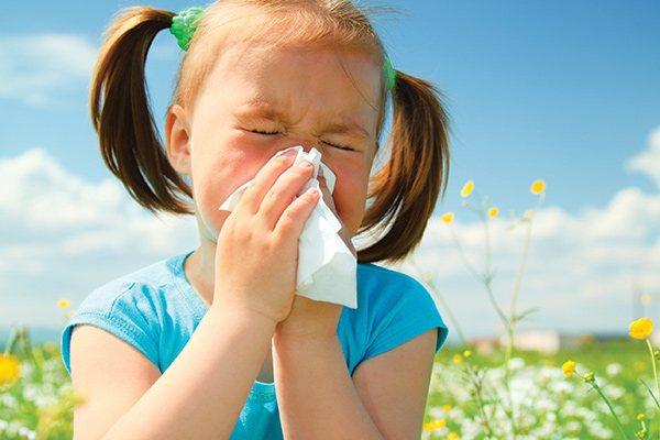 Симптомы и лечение аллергического ринита у детей, диагностика