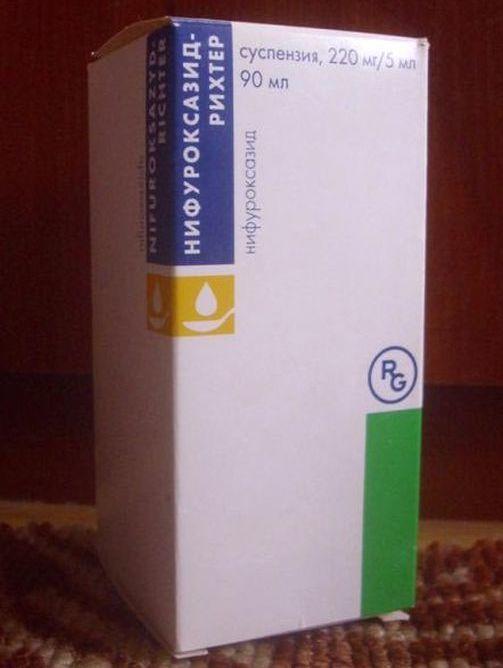 Инструкция по применению суспензии и таблеток нифуроксазид для ребенка от поноса