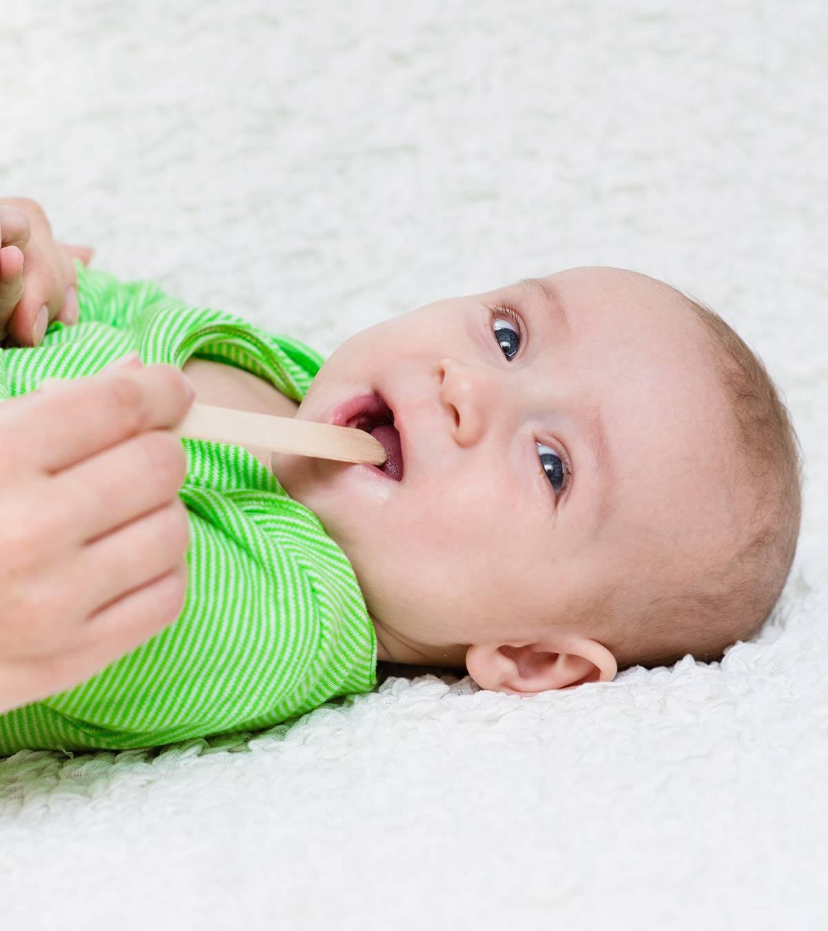 Сухой кашель у грудничка: причины, чем и как лечить