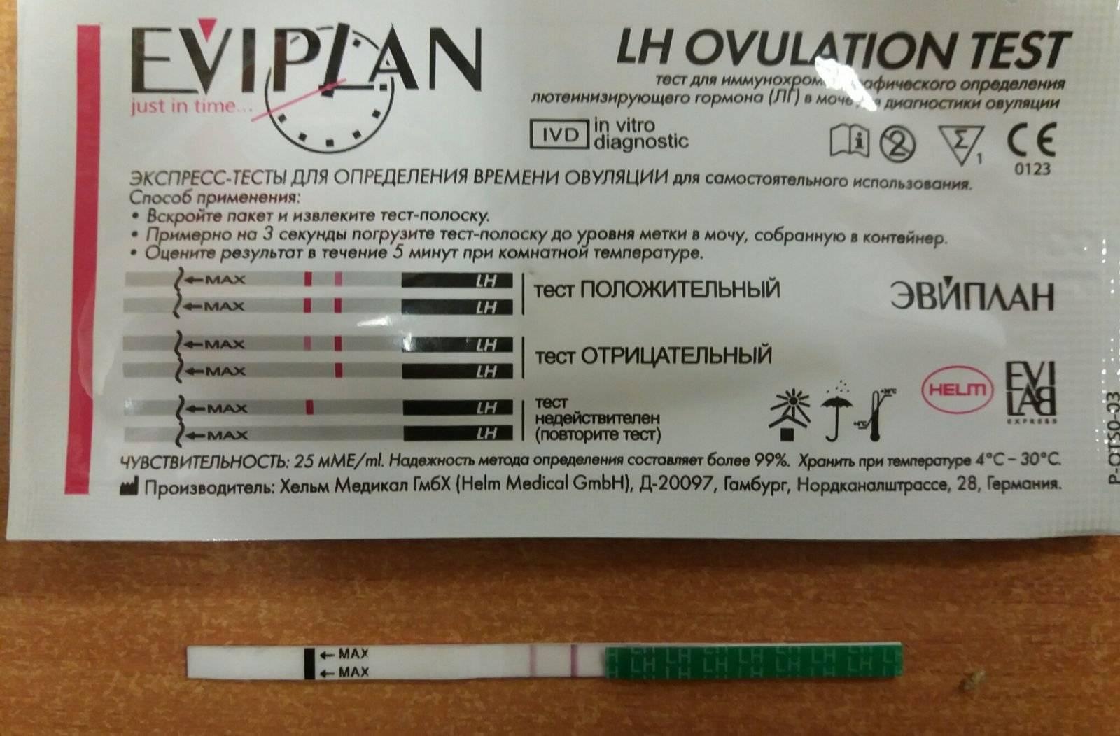 Когда заниматься зачатием, если тест на овуляцию показал положительный результат