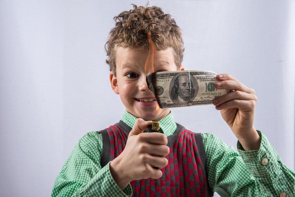 5 правил финансового воспитания детей для родителей