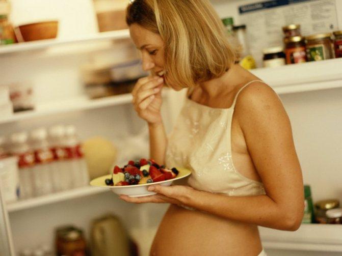 Продукты при беременности: полезные и вредные