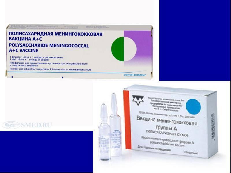 Вакцинация детей от менингококковой инфекции: сроки, реакция организма