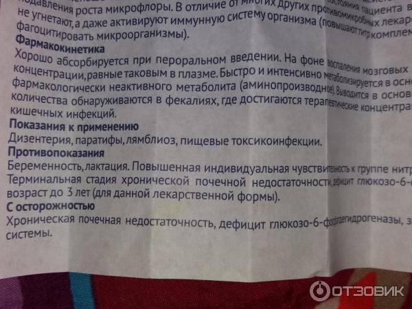 Фуразолидон детям до 3 лет — parazit24
