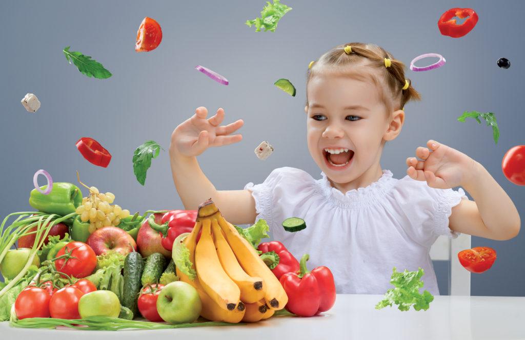 Как приучить ребенка есть овощи?