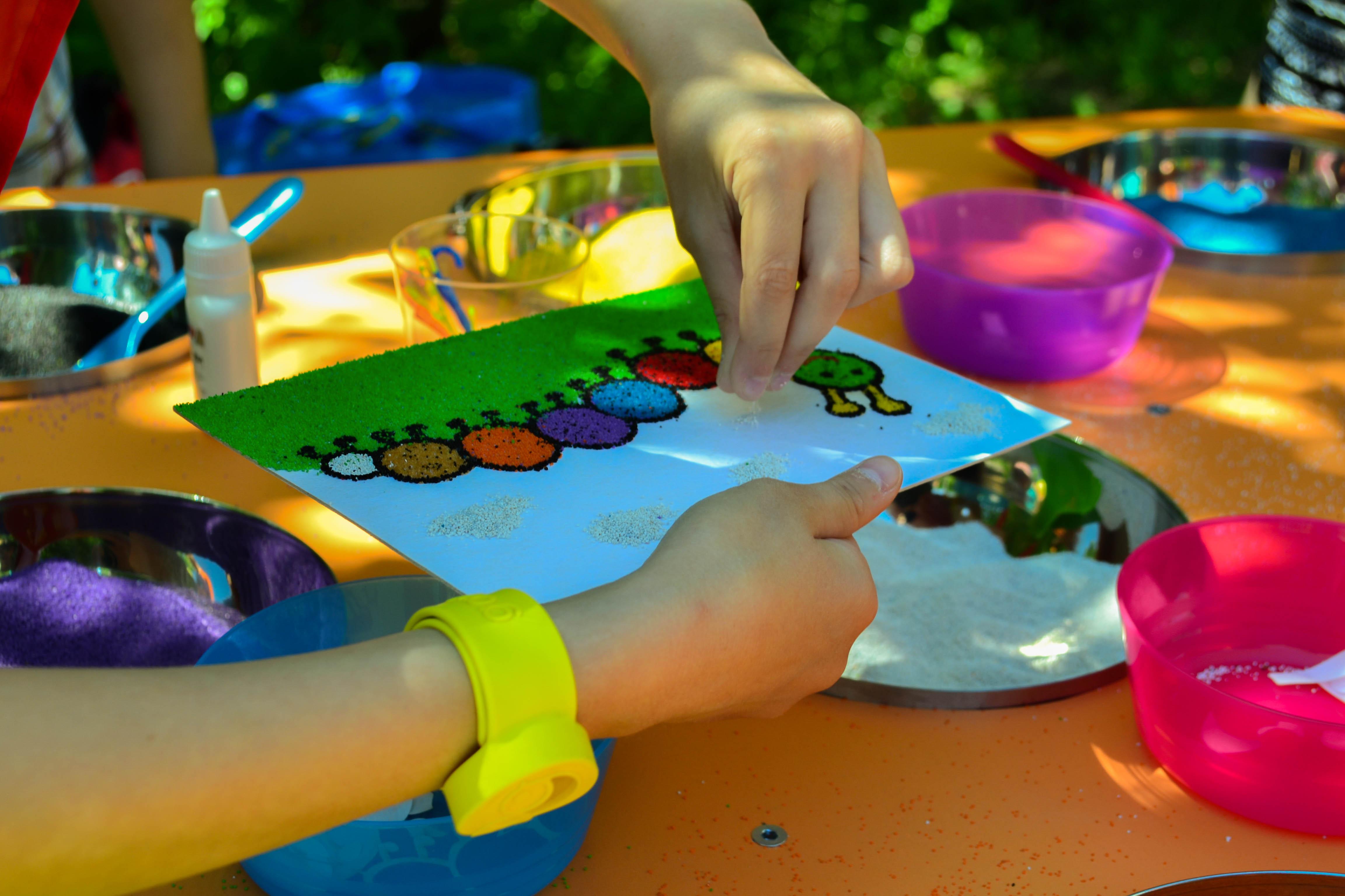 Мастер-класс для педагогов «песок— волшебный материал для творчества. рисование песком»