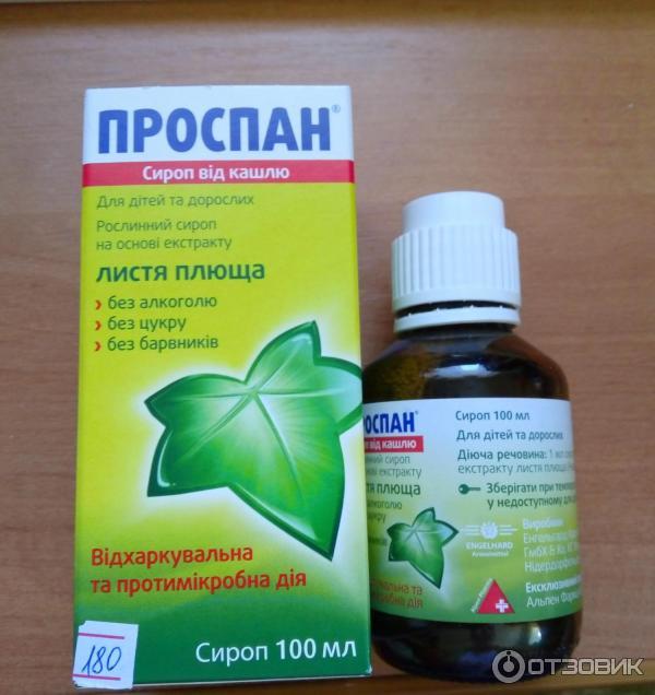 Проспан: инструкция по применению сиропа от кашля и для чего он нужен, отзывы, цена, аналоги
