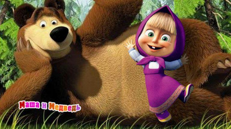 «Маша и медведь» признан самым опасным для детской психики мультфильмом