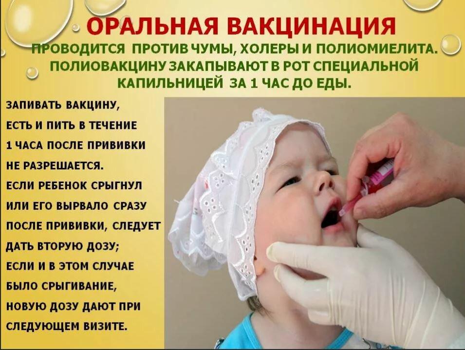 Живая вакцина от полиомиелита и непривитый ребенок
