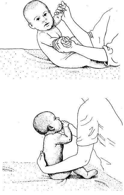 Когда ребенок начинает сидеть самостоятельно - во сколько месяцев?