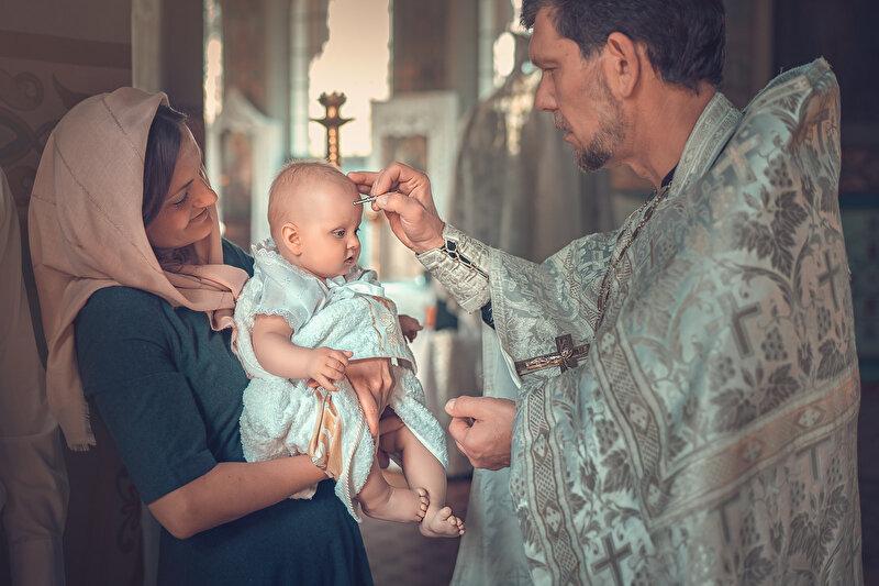 Зачем при крещении дают второе имя, и какие приметы связаны с таинством ❗️☘️ ( ͡ʘ ͜ʖ ͡ʘ)