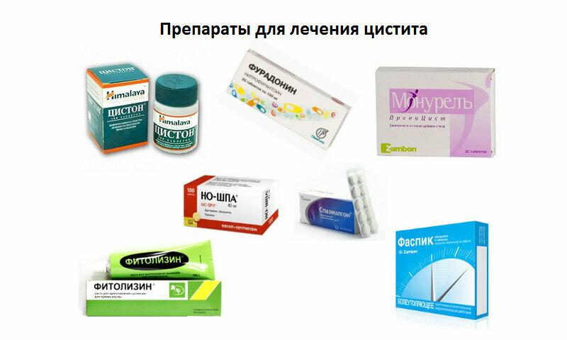 Антибиотики при цистите у женщин: список эффективных препаратов для лечения