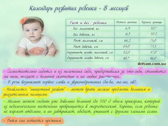 Что должен уметь ребёнок в 6 месяцев: полный перечень навыков младенца
