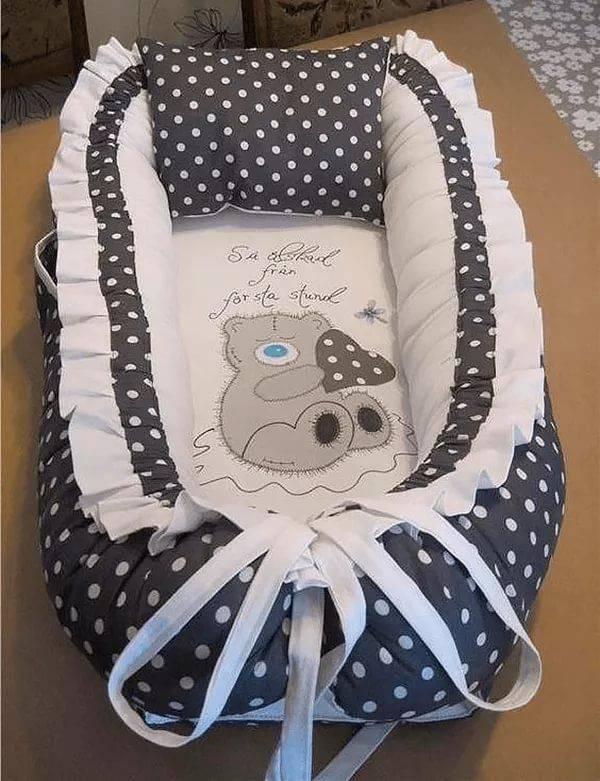 Пошив кокона для новорождённого: мастер-класс по изготовлению своими руками гнезда для ребёнка