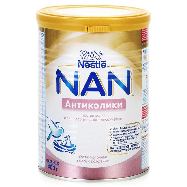 Смесь нан (nan) для новорожденных: какую лучше выбрать и как кормить