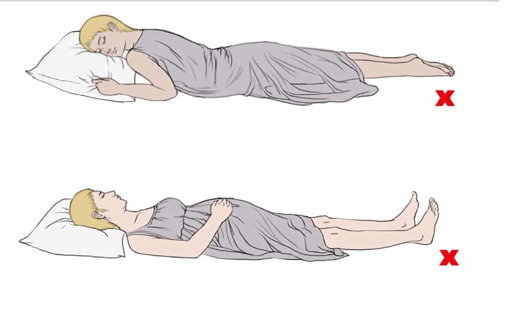 Как спать при беременности - правильные позы на разных сроках