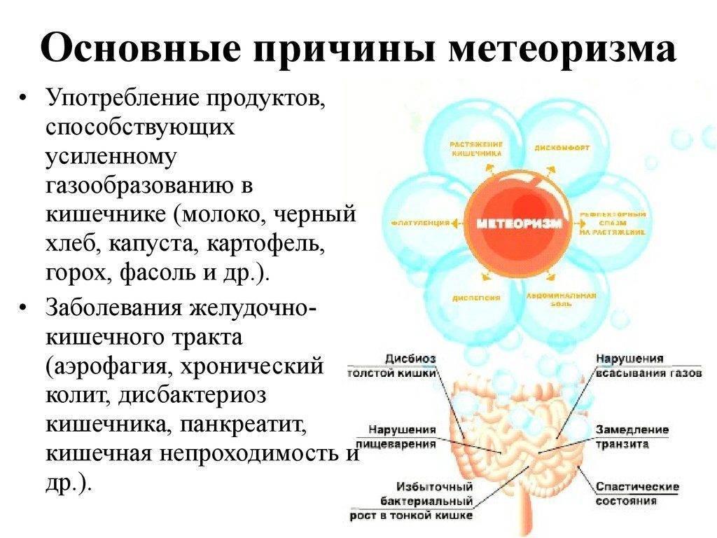 Причины вздутия живота и газообразования у женщин, симптомы и лечение