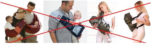 Как правильно носить ребенка на руках в разном возрасте