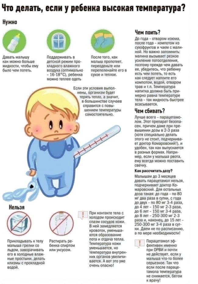 Температура у ребенка 35: основные причины гипотермии у детей