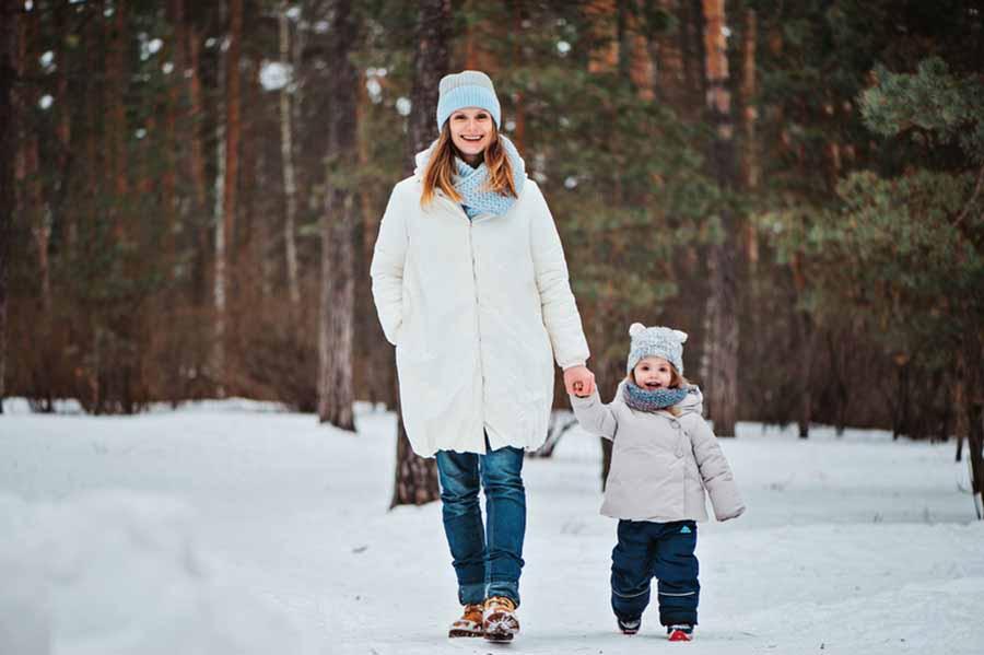 Шпаргалка для родителей: правила зимней прогулки c детьми