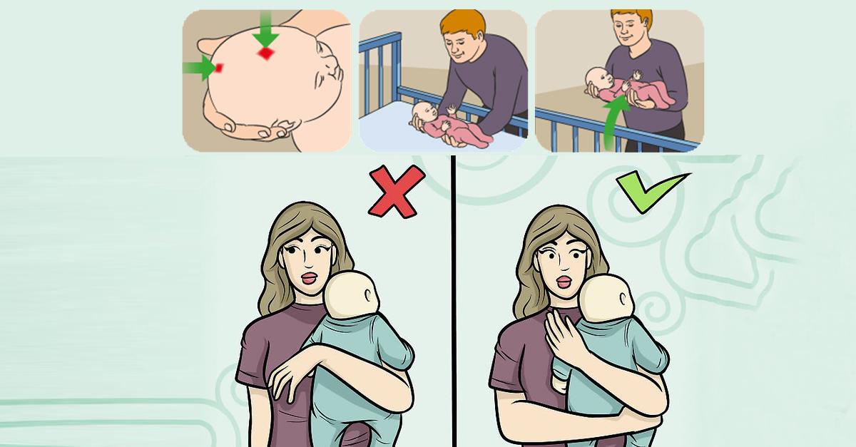 Почему рекомендуется держать новорожденного столбиком после кормления? как правильно держать новорожденного столбиком? - автор екатерина данилова - журнал женское мнение