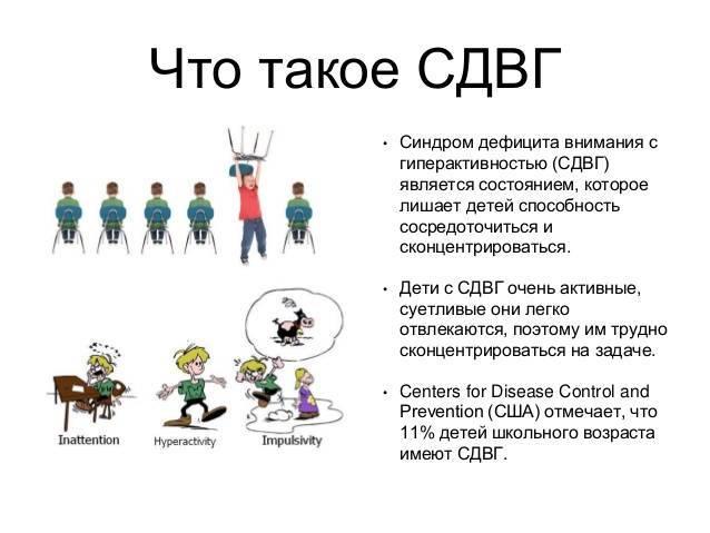 Дефицит внимания у детей: признаки и коррекция. сдвг - синдром дефицита внимания и гиперактивности у детей