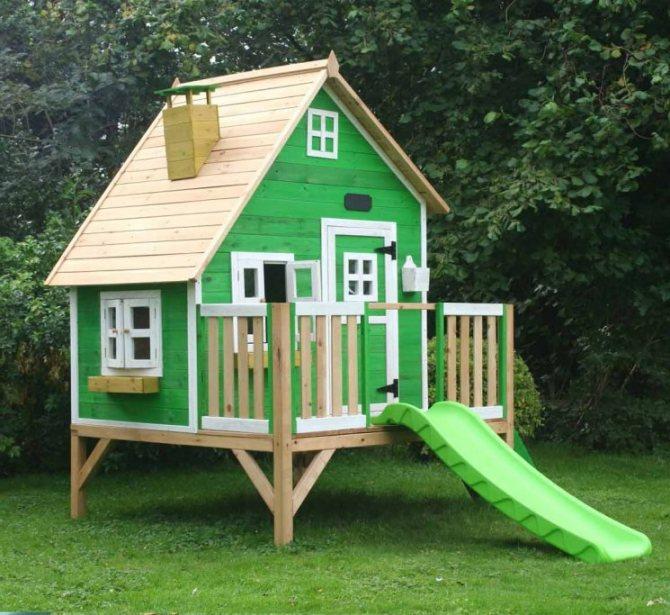 Игровые домики для детей: сказочное детство (фото) | дом мечты