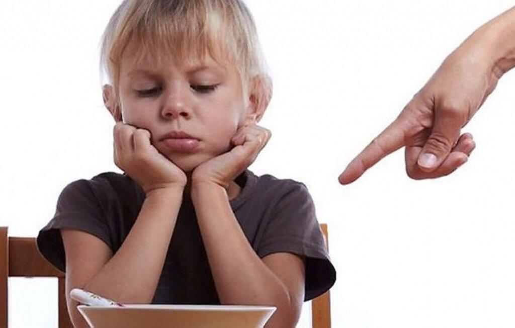 Что нельзя заставлять делать своего ребенка?